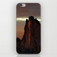 Sunrise at Garden of the Gods iPhone & iPod Skin