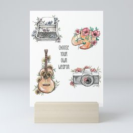Weapon of Choice Mini Art Print
