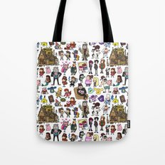 Cute Gravity Falls Doodle  Tote Bag