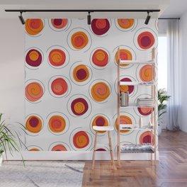 The Circles of Fun Wall Mural