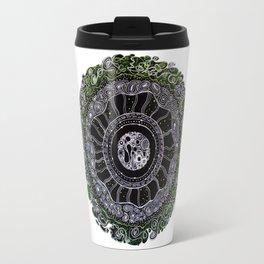 Cellular Mandala Travel Mug
