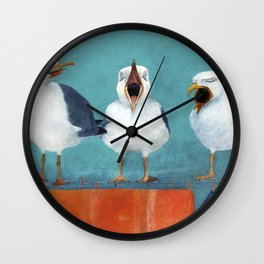 Gaviotas Wall Clock