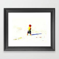 Straight Ahead to a Wonderful World! Framed Art Print