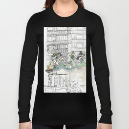 sketch_temple Long Sleeve T-shirt