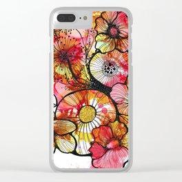 Original Artwork: Rusty Garden Clear iPhone Case