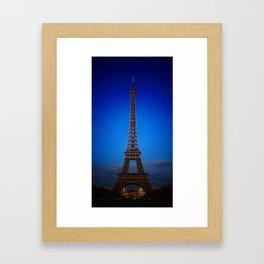 Eiffel_Tower Framed Art Print