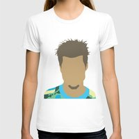 tyler durden T-shirts featuring Tyler Durden Fight Club by Rosaura Grant