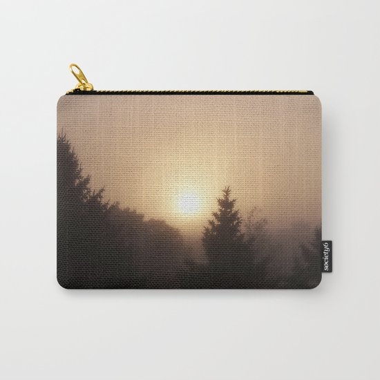 Sunrise Through Morning Fog Carry-All Pouch