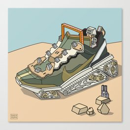 sneaker vehicle 2 Canvas Print