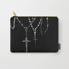 black. Carry-All Pouch