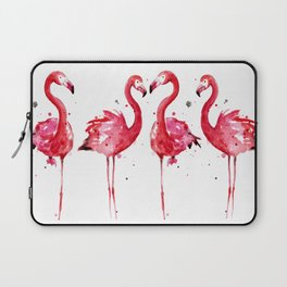 Pink Flamingos Laptop Sleeve