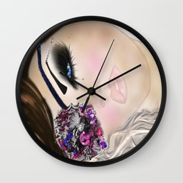 GCD Beautilicious Buccaneer Airbrushed Illustration Wall Clock