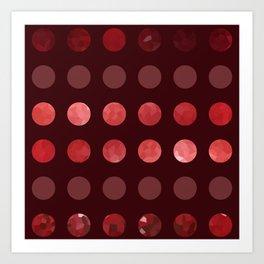 Larger Dots-A-Plenty Art Print
