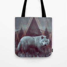 In Wildness | Wolf Tote Bag