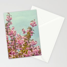 Textured Flowers Stationery Cards