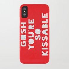 Gosh (Kissable) Slim Case iPhone X