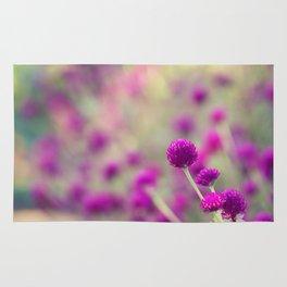 Purple Puffs Rug