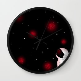Kois in Space Wall Clock