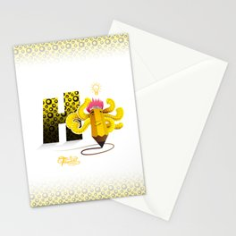 Hi Multitasking Stationery Cards