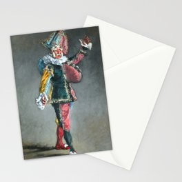 """Édouard Manet """"Polichinelle"""" Stationery Cards"""