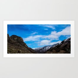 Provo Canyon, Utah Art Print
