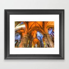 St Giles Cathedral Edinburgh Scotland Framed Art Print