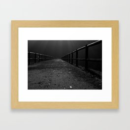 Finding My Way Home Framed Art Print