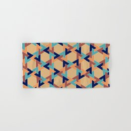 Geometric pattern 1977 Hand & Bath Towel