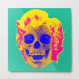 Norman Bates' Mom Metal Print