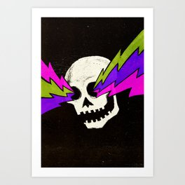 Variations on a Skull Part One Art Print