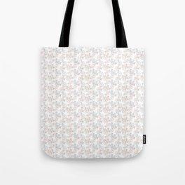 Vintage Bike Pattern Tote Bag