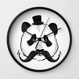 Sir Musical Panda Wall Clock