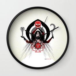 Hindu-Shirt .:kali's fury - BRG Wall Clock