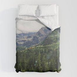 Tatry Koscielec Orla Perc Mountains Duvet Cover