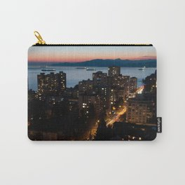 English Bay Sunset Carry-All Pouch