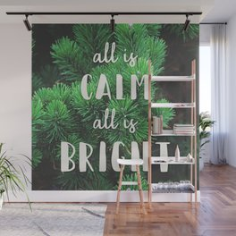 All Is Calm Wall Mural