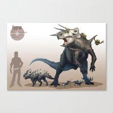 Pokemon-Aggron Canvas Print