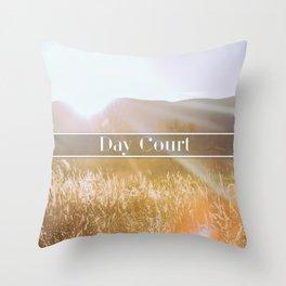 Day Court Throw Pillow