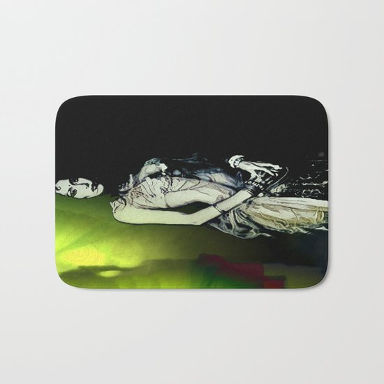 Esmerelda: Stepping Out Of The Nightmare Realm Bath Mat