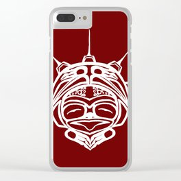 Spirit Frog Blood Clear iPhone Case