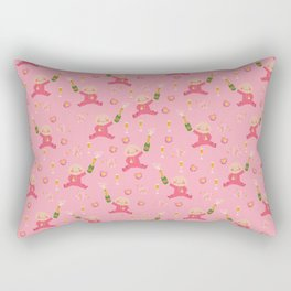 Baby Shower Girl Rectangular Pillow