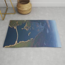 Scituate Reservoir and Islands Skyview - Scituate, Rhode Island Rug