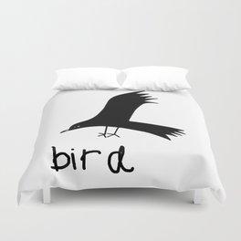 Black Bird Duvet Cover