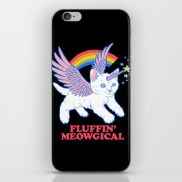 Fluffin' Meowgical iPhone Skin