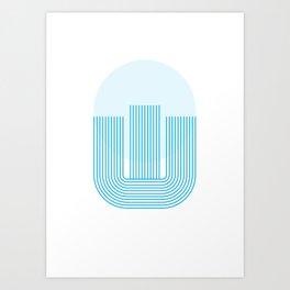 """Tipography """"Ш"""" Art Print"""