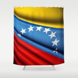 Flag of Venezuela Shower Curtain