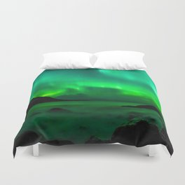 Northern Lights (Aurora Borealis) 5. Duvet Cover