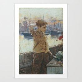 GUIARD, Adolfo (Bilbao, 1860-1916) El cho Art Print