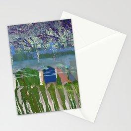 landscape collage #03 Stationery Cards