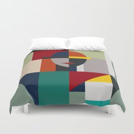 NAMELESS WOMAN Duvet Cover
